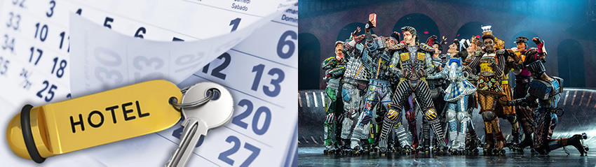STARLIGHT EXPRESS - Hotel und Tickets